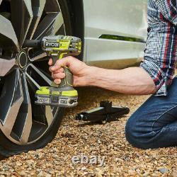 Ryobi One+ R18iw7-0 18v Brushless 1/2 Inch 4 Mode Impact Wrench Au Stock