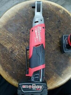 Sans Fil À Cliquet Combo Kit 3/8 Po + 1 / 2po Brushless 12v Lithium Ion 3,0 Ah Batterie